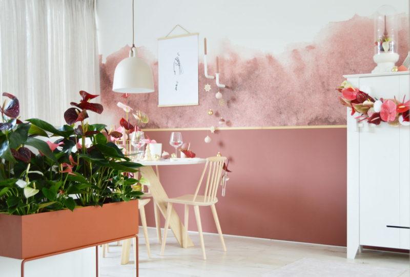 4 ideen f r weihnachtsdekorationen mit anthurien. Black Bedroom Furniture Sets. Home Design Ideas