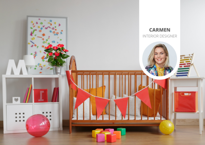 Ideen für ein Babyzimmer mit botanischem Flair