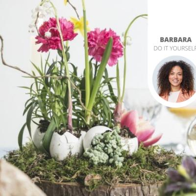 3x DIY-Osterdeko mit Blumen und Pflanzen