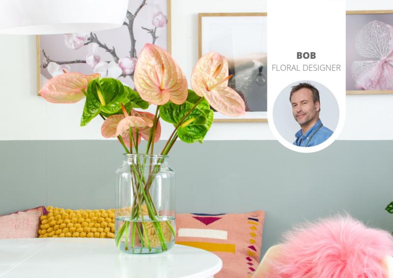 Einen Blumenstrauß mit Schnittanthurien gestalten: Tipps & Ideen
