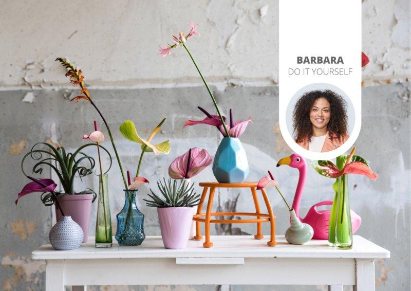 4 originelle Alternativen für eine Vase. Es ist nämlich viel spannender, auch mal etwas anderes auszuprobieren und Blumen auf eine ganz andere Weise zu präsentieren!