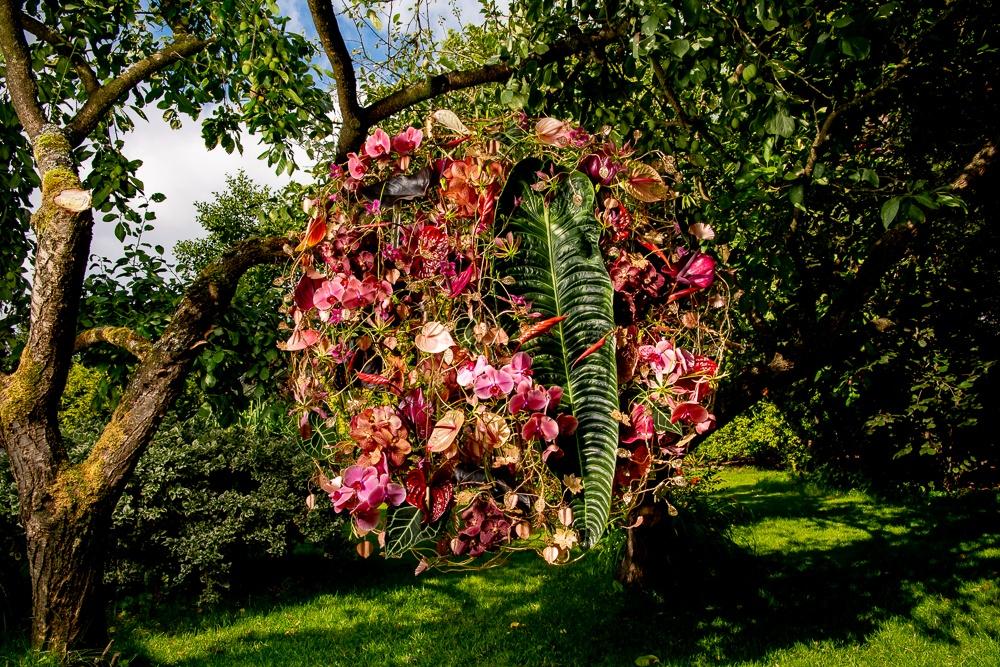 Anthurienkreationen von Blumendesignerin Hanneke Frankema