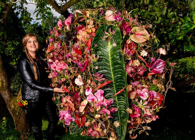 3 x Anthurienkreationen von Blumendesignerin Hanneke Frankema