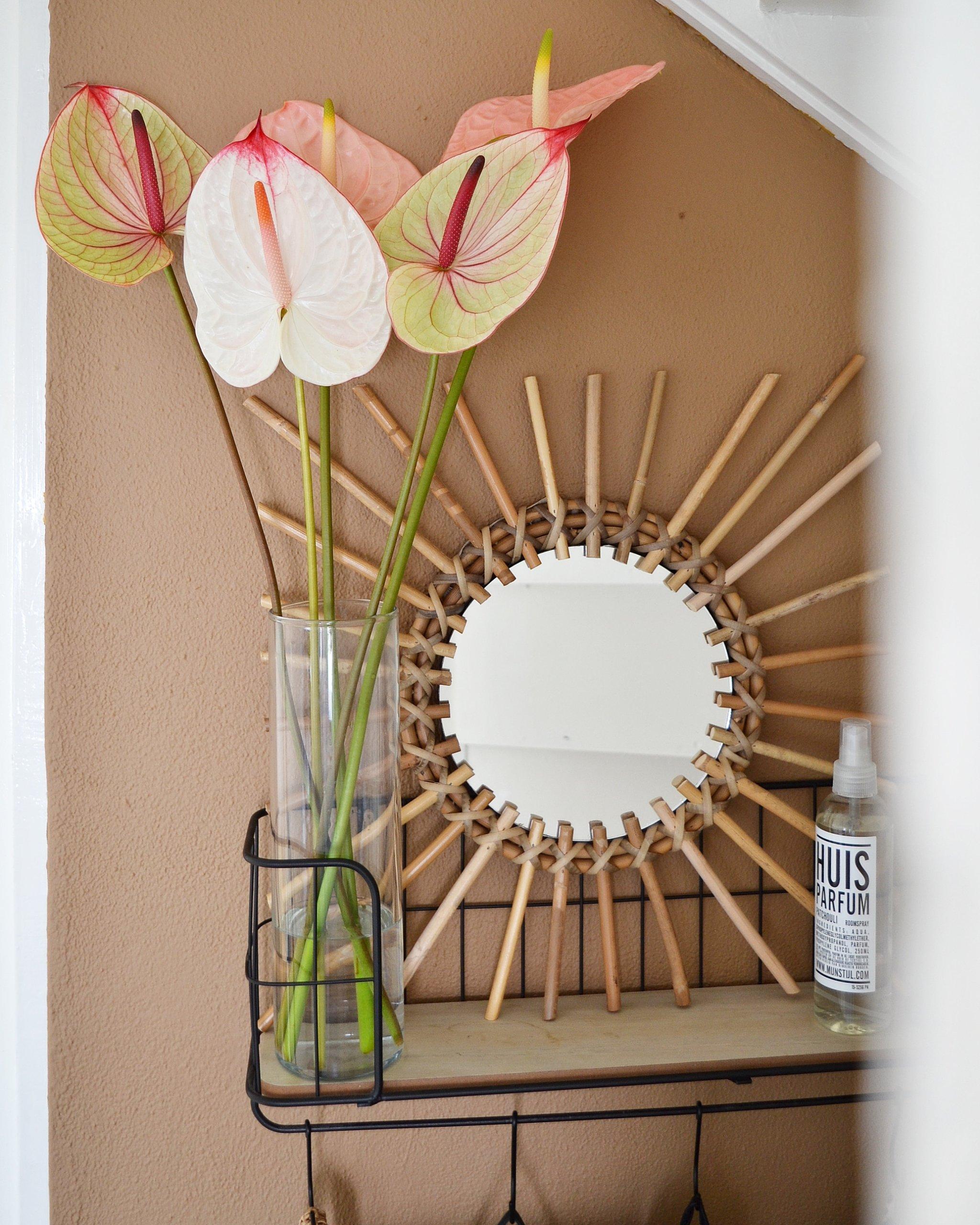 Interieur-Inspirationen mit Anthurien: Styling in 3 unterschiedlichen Interieurs