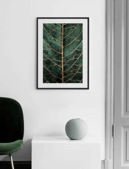 5 schöne Wandposter mit Pflanzenmotiv