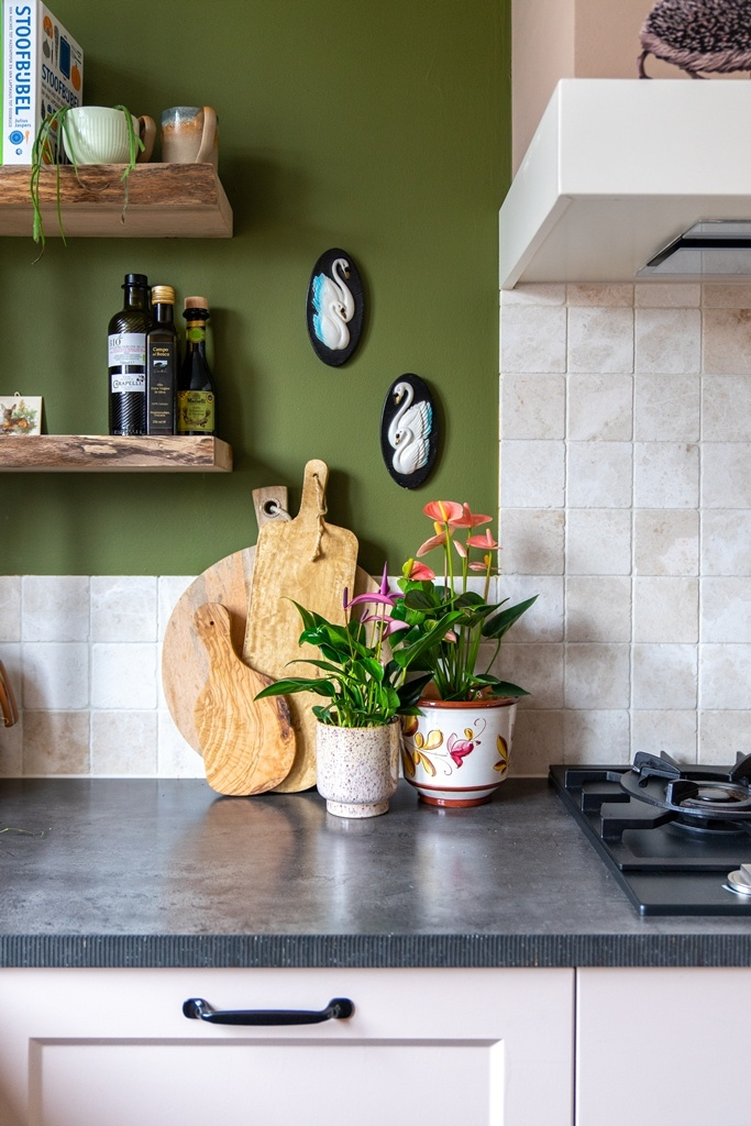 The kitchen of Styled By Sabine