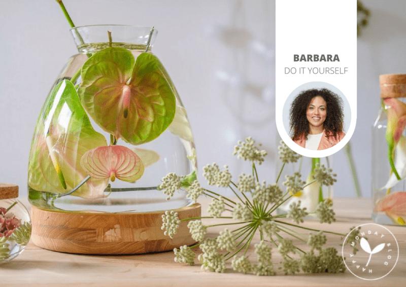 Réalisez votre propre création florale immergée