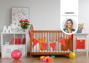 Des idées pour une chambre de bébé sur le thème végétal