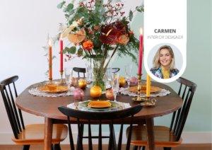Tendance: décoration de Noël végétale avec l'anthurium
