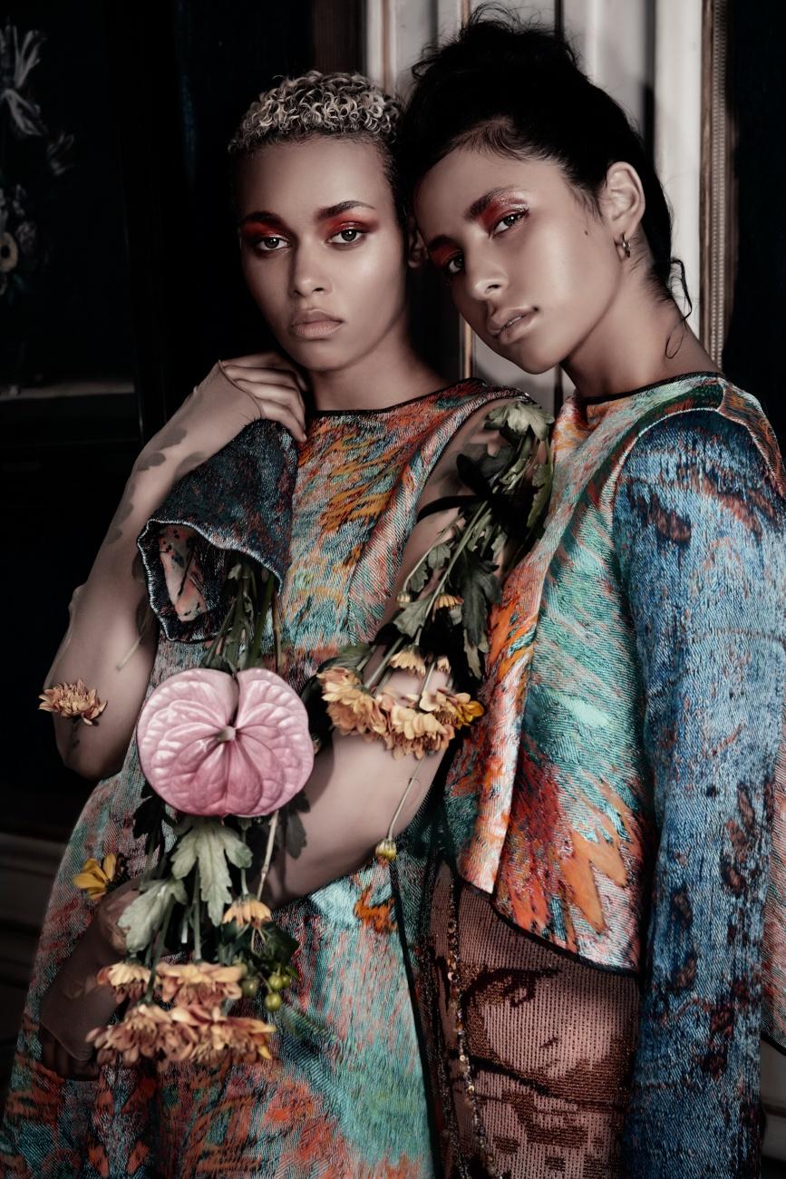 Fashion & anthurium : une fleur prisée pour les défilés de mode et les shootings photo