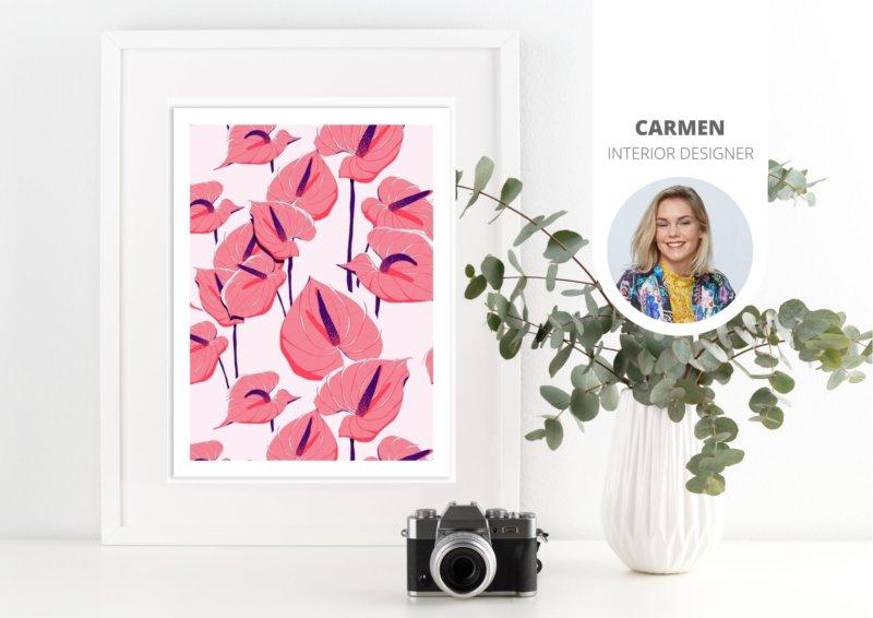5 belles affiches botaniques à accrocher au mur