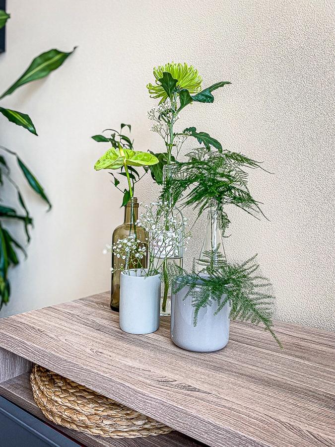 Upcycler des bouteilles en vases