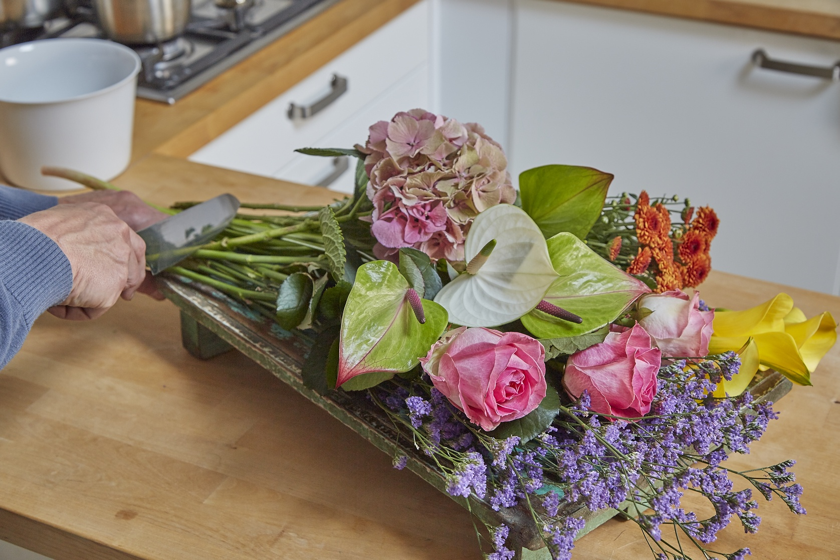 How to make a bunch of cut flowers last even longer