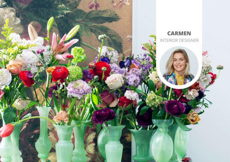 Stijltrend Romance 3.0: decadentie, bloemen en planten