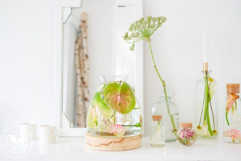 How to make your own underwater flower arrangements