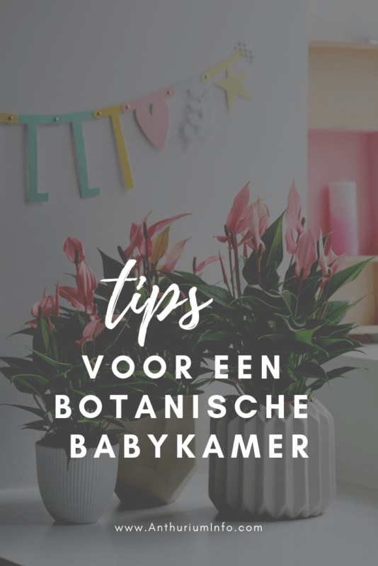 Inspiratie voor een botanische babykamer