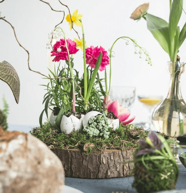 3 Easter DIY projects featuring flowers and plants