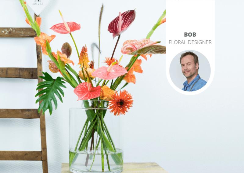 Inspiratie voor een kleurrijk anthurium boeket