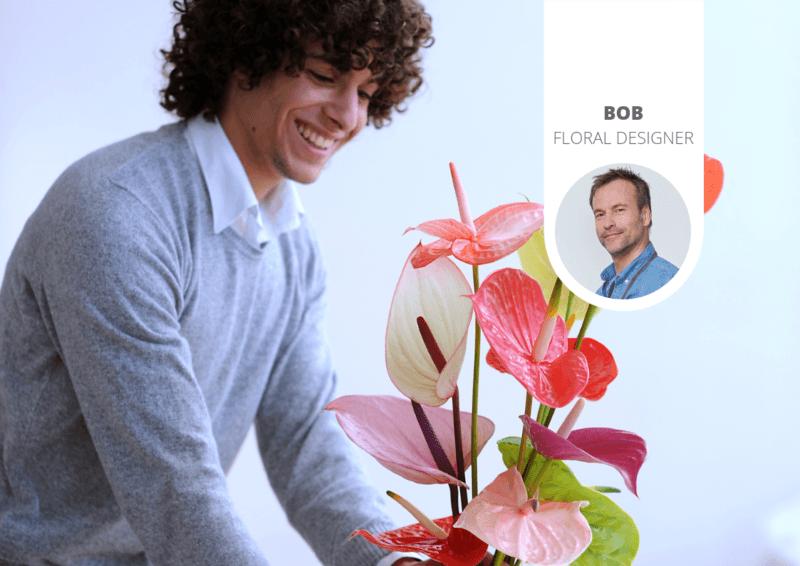 Vaderdag: tips voor het geven van bloemen aan een man