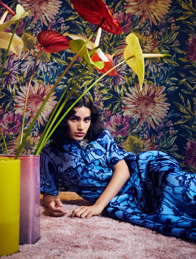 De anthurium: een populaire bloem in modeshows & fotoshoots