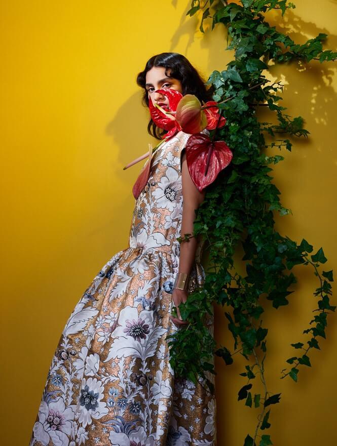 Fashion & anthurium: een populaire bloem voor modeshows en fotoshoots