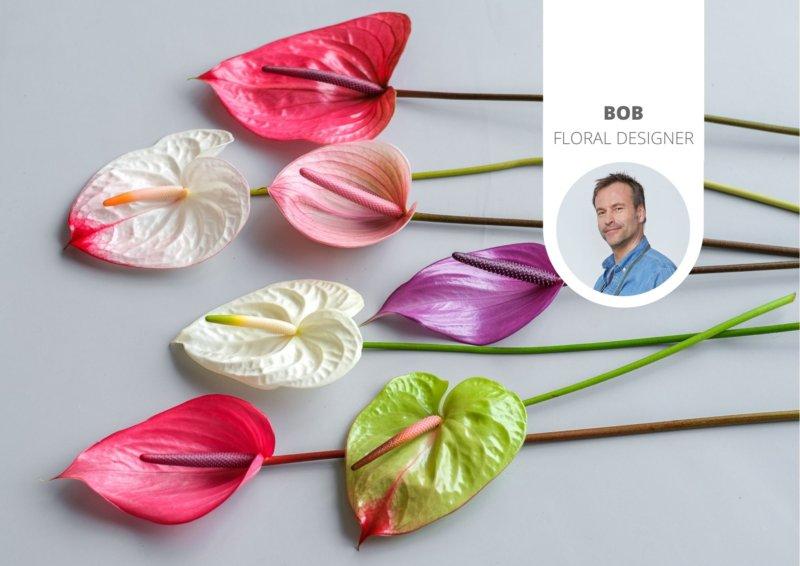 Een kleurrijk voorjaarsboeket in een paar stappen