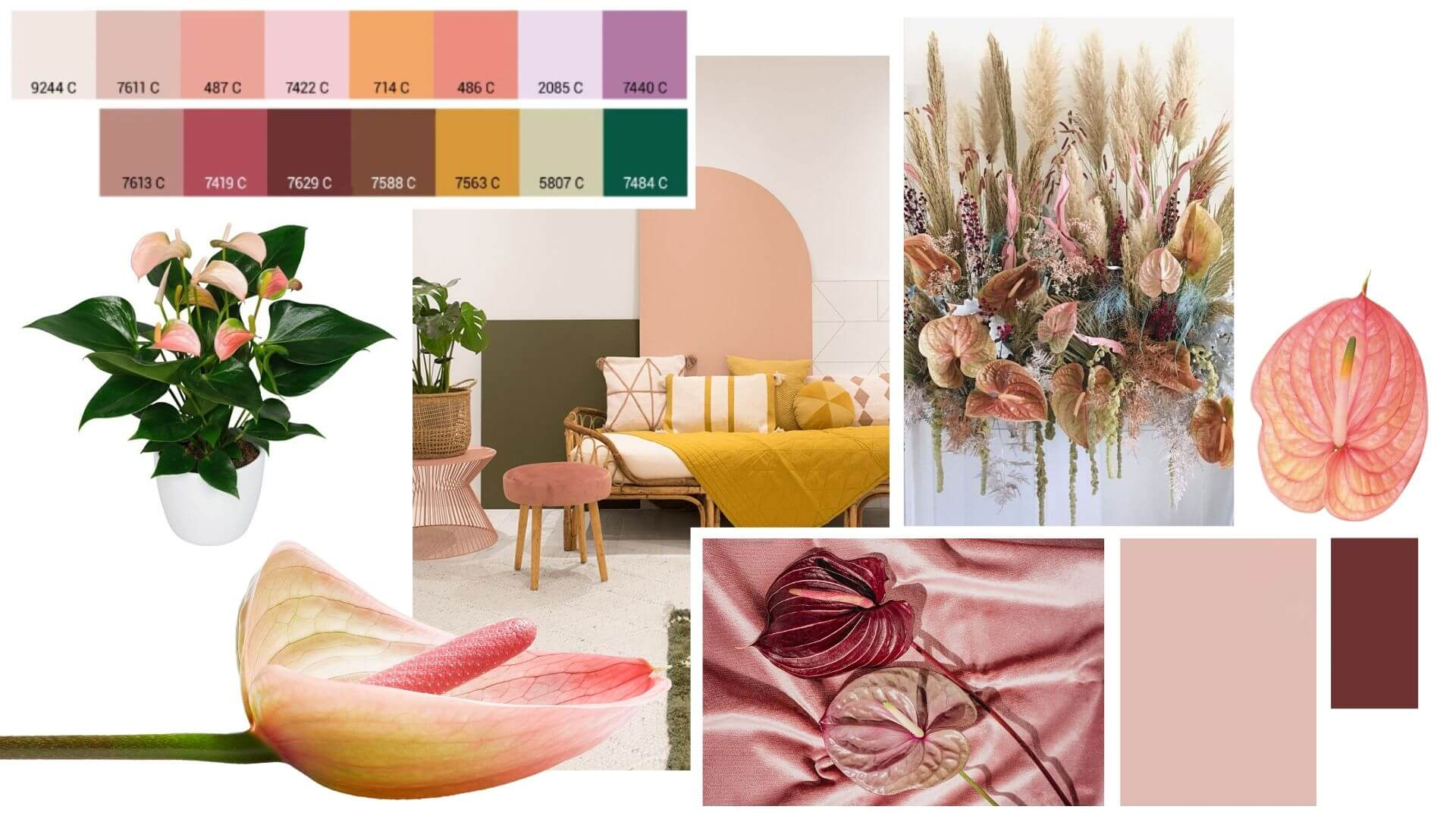 The style trends for the flower and plant sector in 2021
