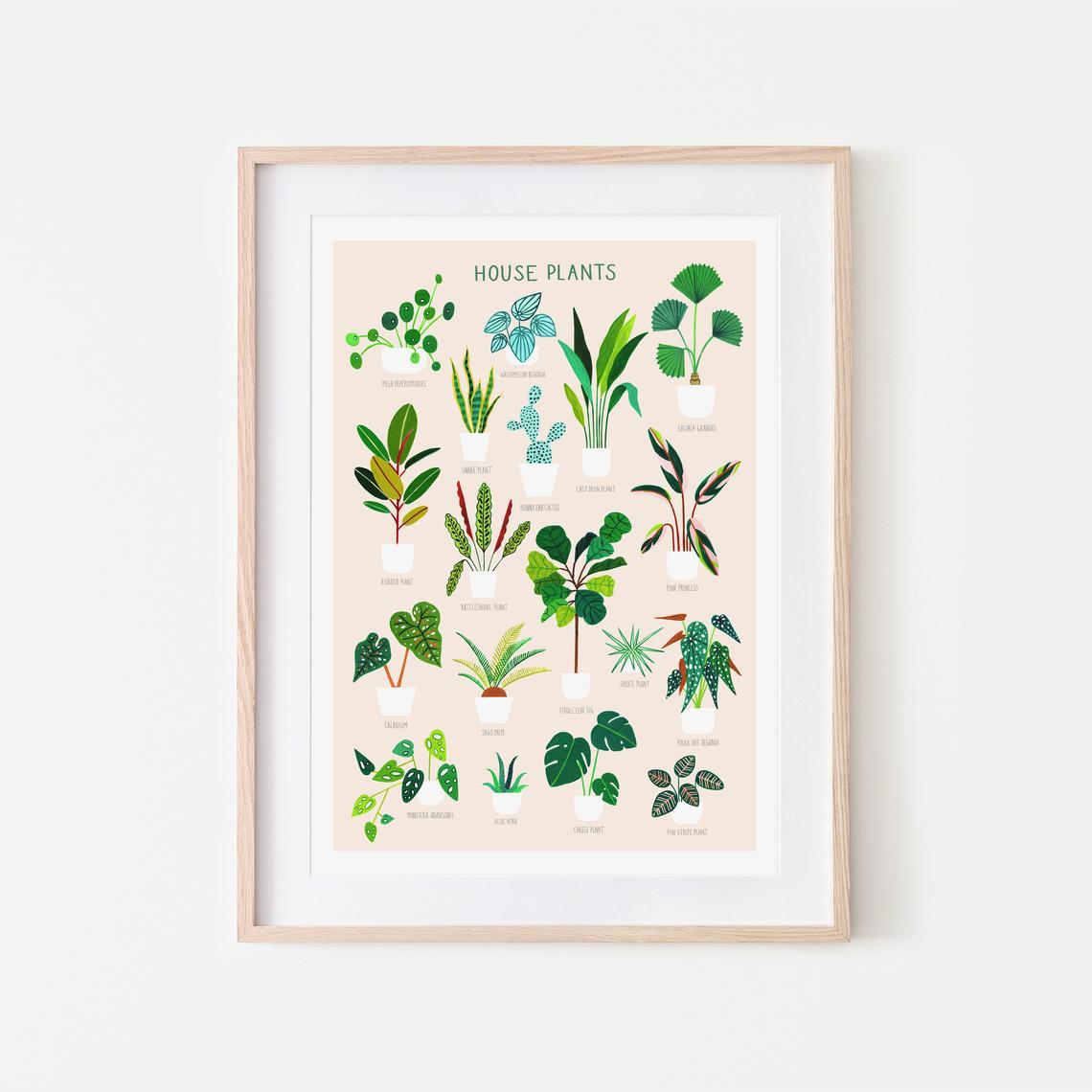 5 mooie botanische posters voor aan de muur