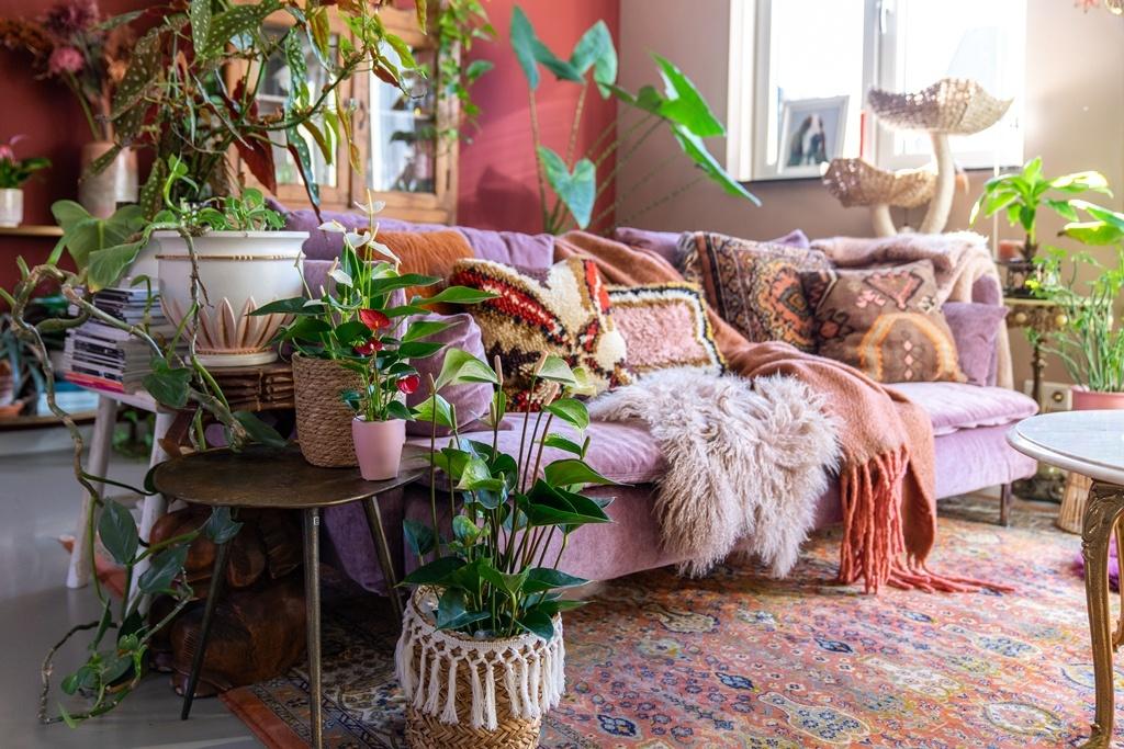 De woonkamer van Styled by Sabine